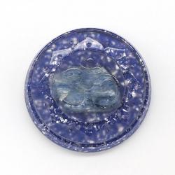 Orgonite Cianite Azul, OM