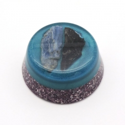 Orgonite Cianite Azul e Cianite Negra, Tower Buster