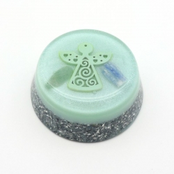 Orgonite Cianite Azul e Aventurina Verde, Tower Buster
