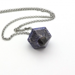 Orgonite Magnetite, Pêndulo/Colar