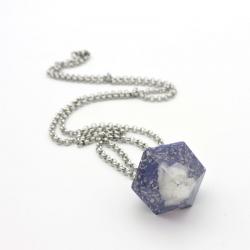 Orgonite Pedra da Lua, Pêndulo/Colar