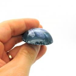 Orgonite Cianite Azul, Colar Mini Tower Buster