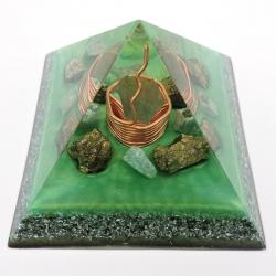 Orgonite Pirite e Amazonite, Pirâmide Kéops L